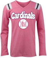 5th & Ocean St. Louis Cardinals Long Sleeve Retro T-Shirt, Girls (4-16)