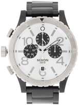 Nixon 4820 Chrono A486 Chronograph Watch Black/silver