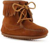Minnetonka Girls Ank Tramper Toddler & Youth Boot -Brown