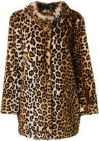 Blugirl leopard print coat
