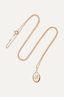 Catbird + Net Sustain Dollhouse 14-karat Gold Necklace - I