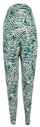 Dorothy Perkins Womens **Maternity Leaf Print Jersey Joggers