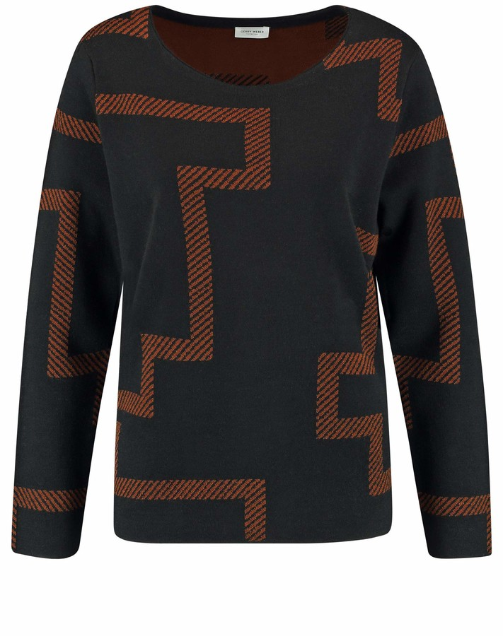 Thumbnail for your product : Gerry Weber Women's Pullover 1/1 Arm_471017 Sweater