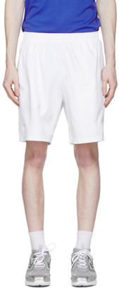 Nike White Dri-FIT 9 Tennis Shorts