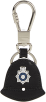 Burberry Police hat leather key ring