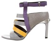 Prabal Gurung Multicolor Cage Sandals w/ Tags