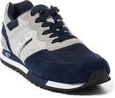 Polo Ralph Lauren Slaton Suede-Jersey Sneaker