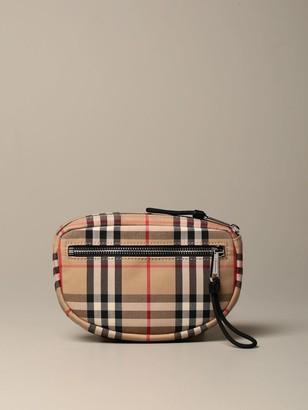 Burberry Cannon Belt Bag With Vintage Check Motif