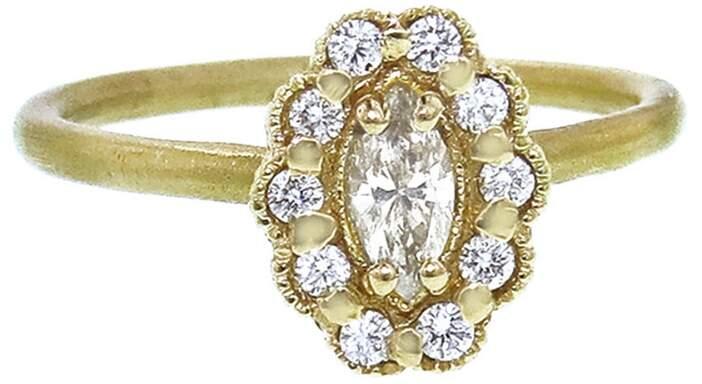 Marquis Megan Thorne Mosaic Ring - Yellow Gold