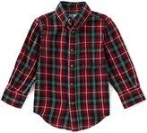 Class Club Little Boys 2T-7 Plaid Button-Down Long-Sleeve Shirt