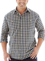 JCPenney THE FOUNDRY SUPPLY CO. The Foundry Supply Co. Vintage Plaid Shirt-Big & Tall