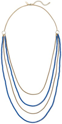 New York & Co. Beaded Layered Necklace
