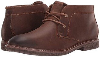Lucky Brand Boone (Walnut Burnished Crazy Horse) Men's Boots