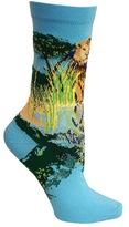 Ozone Women's Lion Crew Sock (2 Pairs)