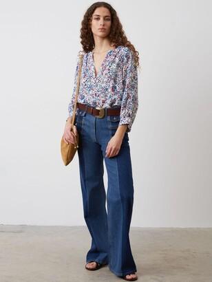 Gerard Darel Pantalon Jeans, Blue