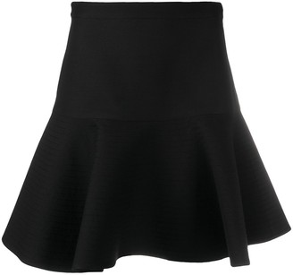 Valentino Flared Short Skirt