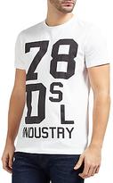 Diesel T-diego-nd 'industry' T-shirt, Bright White