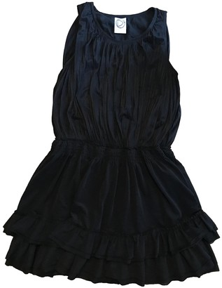 Dress Gallery Black Cotton Dress for Women