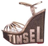 Charlotte Olympia Tinsel Town Wedge Sandals