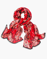 Chico's Tiled Spice Scarf