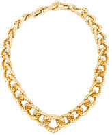 David Webb Twisted Rope Necklace
