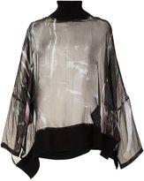 Ann Demeulemeester oversized blouse