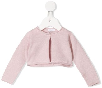 Il Gufo Cropped Fitted Cardigan