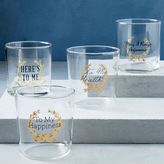 Fishs Eddy Selfish Glassware