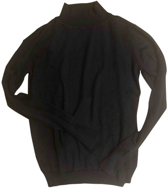 Hermes Black Wool Knitwear for Women Vintage