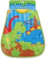 Stephen Joseph Wipeable Infant and Toddler Bib (Dino)
