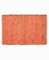 """Thumbnail for your product : Home Weavers Beehive Modern Accent 24"""" x 36"""" Rug Bedding"""