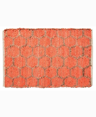 """Home Weavers Beehive Modern Accent 24"""" x 36"""" Rug Bedding"""