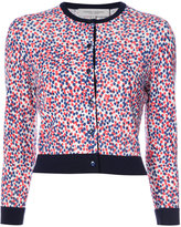 Carolina Herrera polka dot cardigan - women - Virgin Wool - S