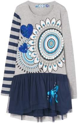 Desigual Girl's VEST_ROUGE Dress