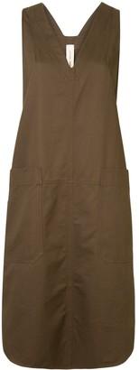 Lee Mathews Drill Apron dress