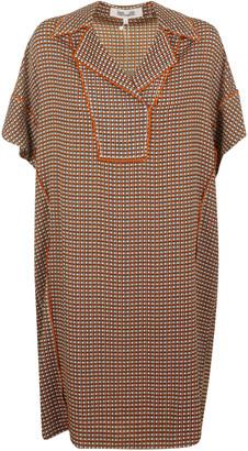 Diane von Furstenberg Short-sleeve Oversized Dress