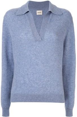 KHAITE v-neck jumper