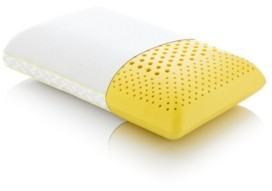 Malouf Closeout! Z Zoned Chamomile Mid Loft Queen Pillow with Aromatherapy Spray