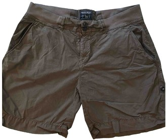 Woolrich Brown Cotton Shorts for Women