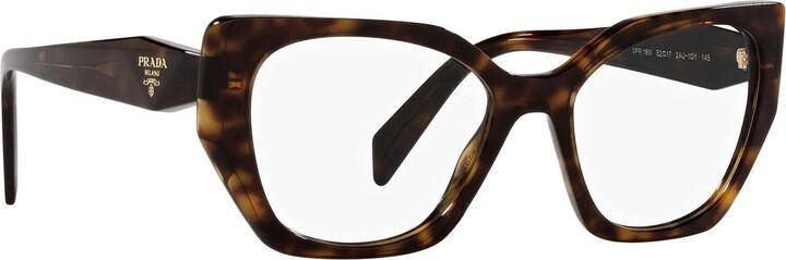 Thumbnail for your product : Prada Pr 18wv Tortoise Glasses