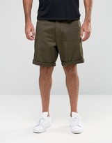 Armani Jeans Chino Shorts With Eagle Logo