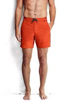 "Classic Men's 7"" Active Board Shorts Navy Multi Stripe"