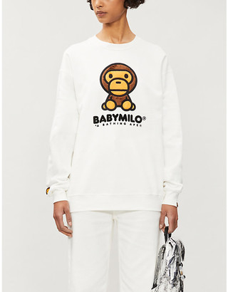 BAPE Boa Big Baby Milo cotton-blend jersey jumper