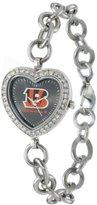 Game Time NFL Women's FH-CIN Heart Collection Cincinnati Bengals Watch