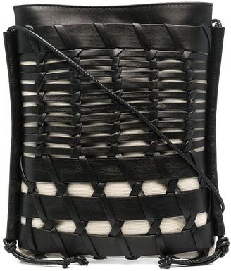 Hereu Woven Cross-Body Bag