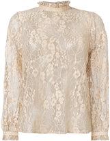 Paul & Joe sheer lace blouse
