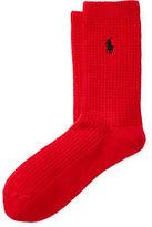 Polo Ralph Lauren Waffle-Knit Boot Socks