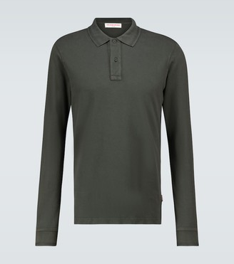 Orlebar Brown Jarrett long-sleeved polo shirt