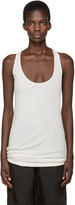 Boris Bidjan Saberi Off-White Object Dyed Tank Top