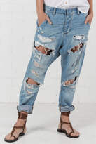 One Teaspoon Blue Jane Cavalries Jeans